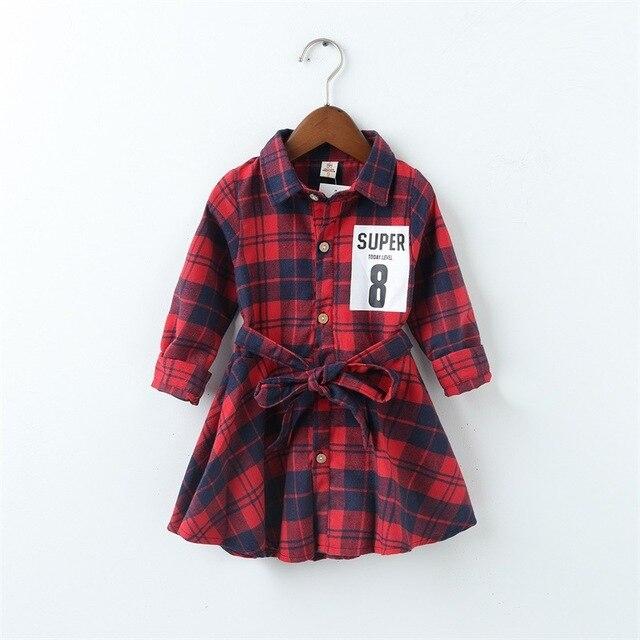 79f15278e5f3 Fashion frocks designs little girls cotton winter children s long ...