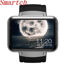 Smartch DM98 Bluetooth Smart Watch Android 4.4 3G Smartwatch Phone MTK6572 Dual Core 1.2GHz 4GB ROM Camera WCDMA WiFi GPS smartch 2018 i6 smart watch android 5 1os mtk6580 quad core 1 3ghz 2gb 16gb smartwatch support google play store map 3g gps wifi