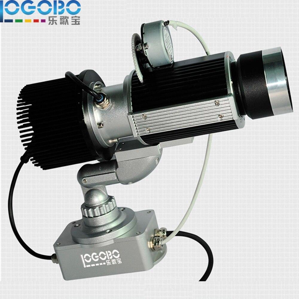 Paras myynti AC110-240V 30W LED Gobo-projektori Valo Nimi tai kirjaimet valoissa Uplighting ja Gobo Glass Kierrä projektio
