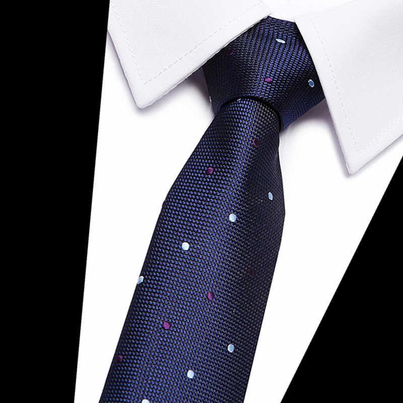 7c5a54977ed3 ... 2017 Classic Silk Mens Ties Neck Ties 8cm Brown Yellow blue Ties for  Men Formal Wear