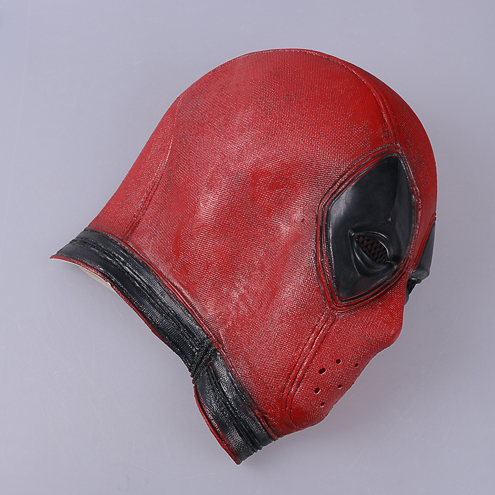 Marvel Deadpool Masks Halloween Cosplay Costume Props Superhero Movie Latex Mask Collectible Toys Party (4)