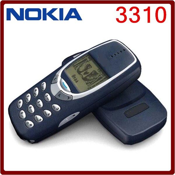 Цена за 3310 Оригинальный Разблокирована Nokia 3310 Дешевые 2 Г GSM Поддержка России и Арабский Клавиатура Отремонтированы Сотовый Телефон Бесплатная Доставка