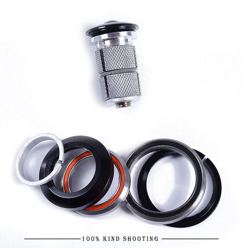 "Bicycle Accessories headset 1-1/8""-1-1/2"" for headset spacer bicycle headset top cap road/mtb bike Accessories free shipping(China)"