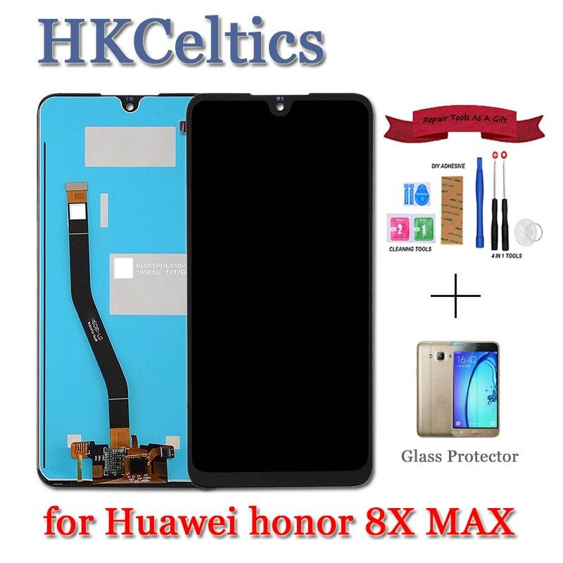 Pour Huawei Honor 8X LCD écran tactile numériseur JSN L22 L21 écran pour HUAWEI Honor 8X MAX 8 Xmax écran sont AL00 remplacer