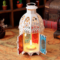 Romantic Carve Patterns Designs Woodwork Candlestick Furnishing Articles Table Decoration Church Decorations Wedding Candlestick