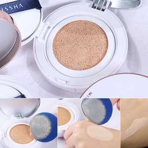 Image 5 - 2Pcs MISSHA Magic Cushion Moisture (#21 + #23) Whitening air cushion BB cream Foundation Makeup Sunscree Korea cosmetic