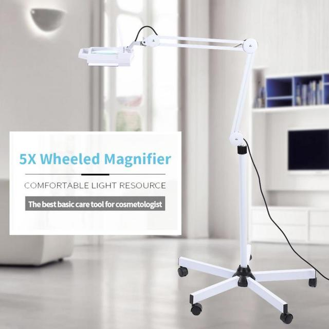 Led 5x magnifying floor lamp lighted magnifier light stand magnifier led 5x magnifying floor lamp lighted magnifier light stand magnifier tattoo body makeup lamp beauty magnifying aloadofball Images