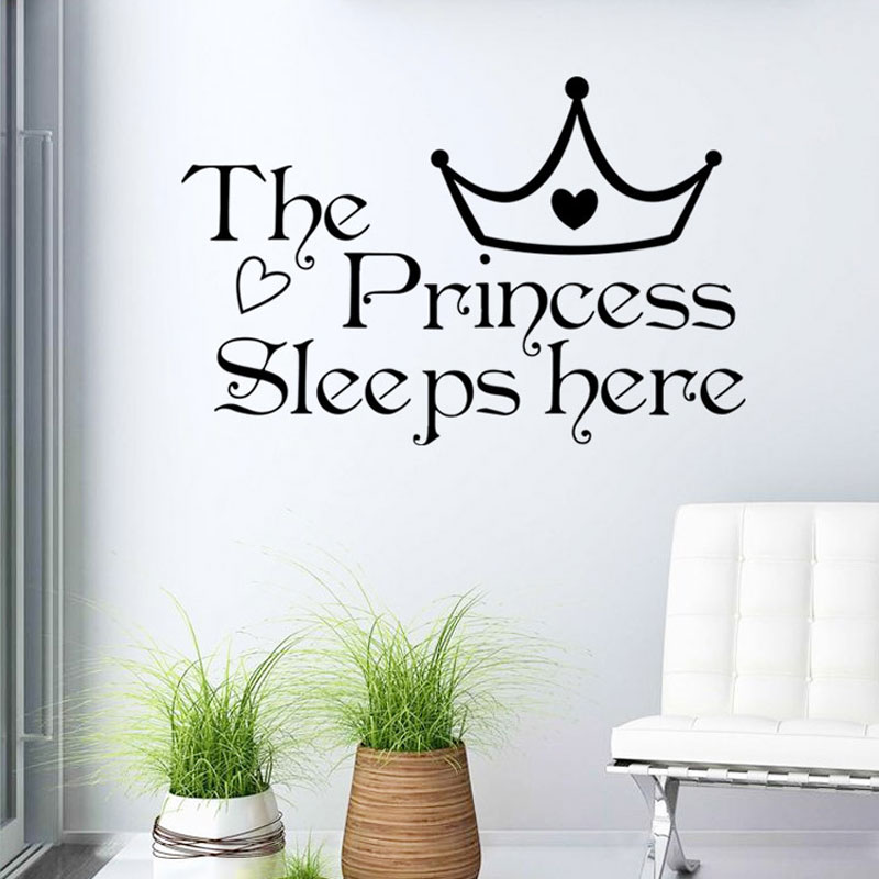Writing art English inspirational wall sticker Removable vinyl wall decals kids rooms Vinyl decorative stickers