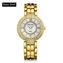 2 Circle Crystal Dial Diamond Rolling Bracelet Women's Watches Fashion Roman Scale Women Quartz-watch Clock Free Shipping