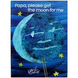 Papa  proszę o księżyc dla mnie Eric Carle edukacyjna angielska karta do nauki zdjęć książka przygodowa dla dzieci prezenty dla dzieci na