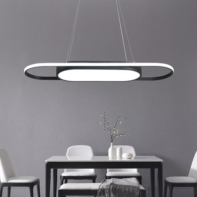 Luminaire Pendant lamp led lights for kitchens office lamparas colgantes creative Dimming Modern LED Pendant Lights for office