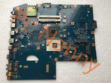 100% Original MBPHZ01001 48.4 fx01. 01 M placa madre del ordenador portátil para Acer aspire 7736z 7736 DDR2 GM45 integró alta calidad