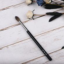 Pincel de maquiagem para esfumar, instrumentos profissionais para cosméticos, macio de cabra e squirrel