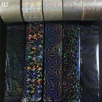 Wholesale High Quanlity 120 0 04m Beautiful Shinning DIY Nail Art Transfer Foil Sticker Nail Art
