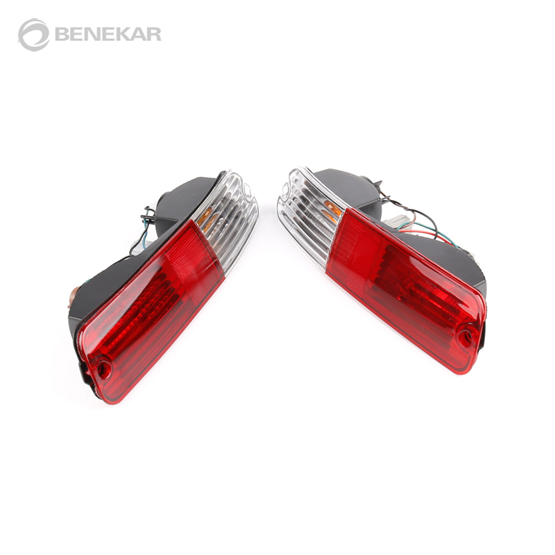 Rear Inner Lamp Tail Lights PAIR LH RH For Mitsubishi Outlander 2007-2010