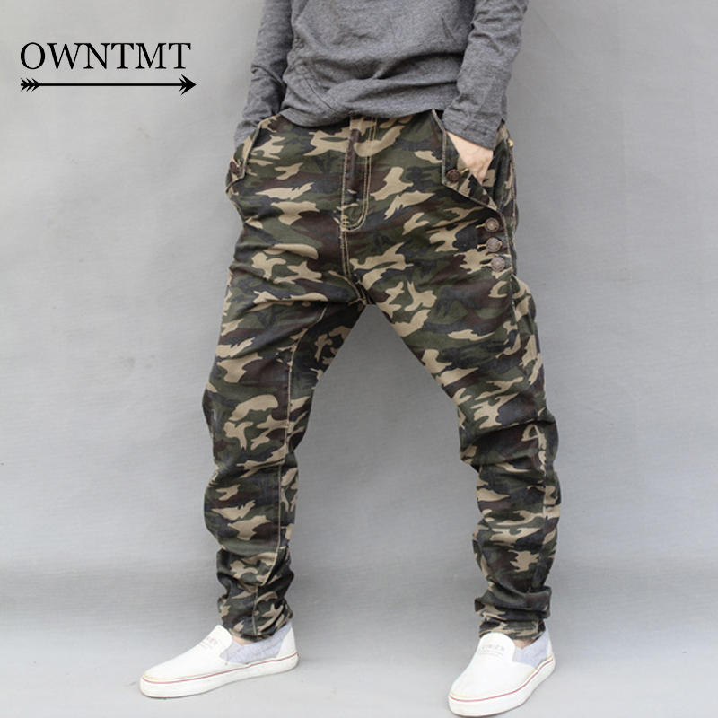 inégale en performance 2019 meilleures ventes dégagement € 27.97 42% de réduction|2019 nouveau mode hommes Jeans pantalon homme  Camouflage élastique Harem Demin Cross pantalon homme Hip Hop Streetwear  Skinny ...
