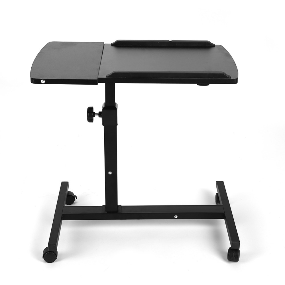 Portable folding laptop notebook table desk adjustable laptop stand - Portable Foldable Adjustable Laptop Desk Computer Table Stand Tray For Sofa Bed Black China
