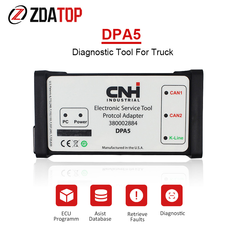 DPA5 Kit Truck With Green Cable Diagnostic Tool Electronic Service Tools EST 9 0 Engineer Software