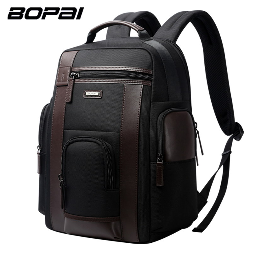 BOPAI Multifunction Large Capacity Laptop Backpack Anti Theft Fashion Men Shoulders Bag Travel Backpack Waterproof Drop Shipping bopai brand backpack usb charging backpack laptop shoulders anti theft usb backpack 15 inch laptop backpack men waterproof