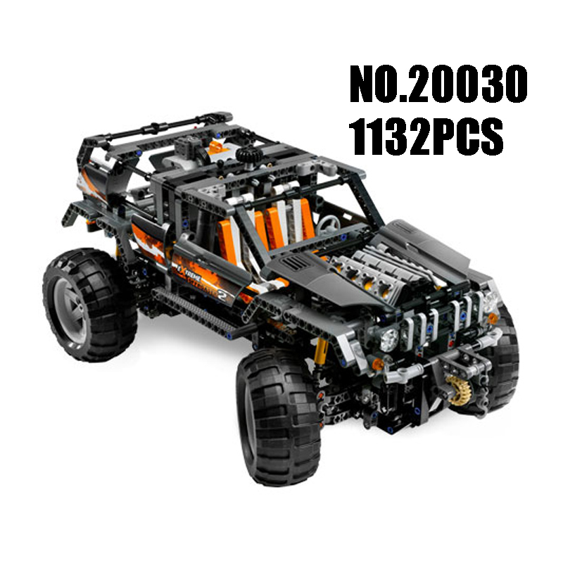 WAZ Compatible Legoe Genuine Technic 8297 Lepin 20030 1132pcs Off-Roader Set building blocks Figure Bricks toys for children forex b016 xw 8297