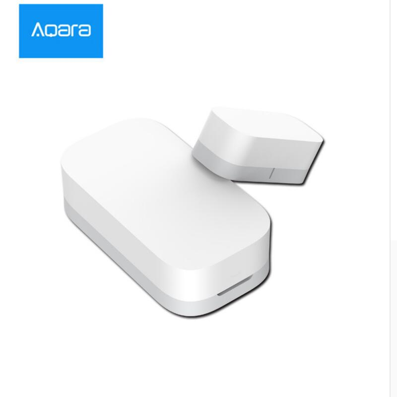 New Updated Xiaomi Aqara Sensor Multipurpose Smart Wireless Door and Window Sensor Detector Zigbee Connection Mihome App Control 2018 xiaomi ecological chain brand wima electro mechanical anti theft smart cylinder zigbee version mihome app control 5pcs keys
