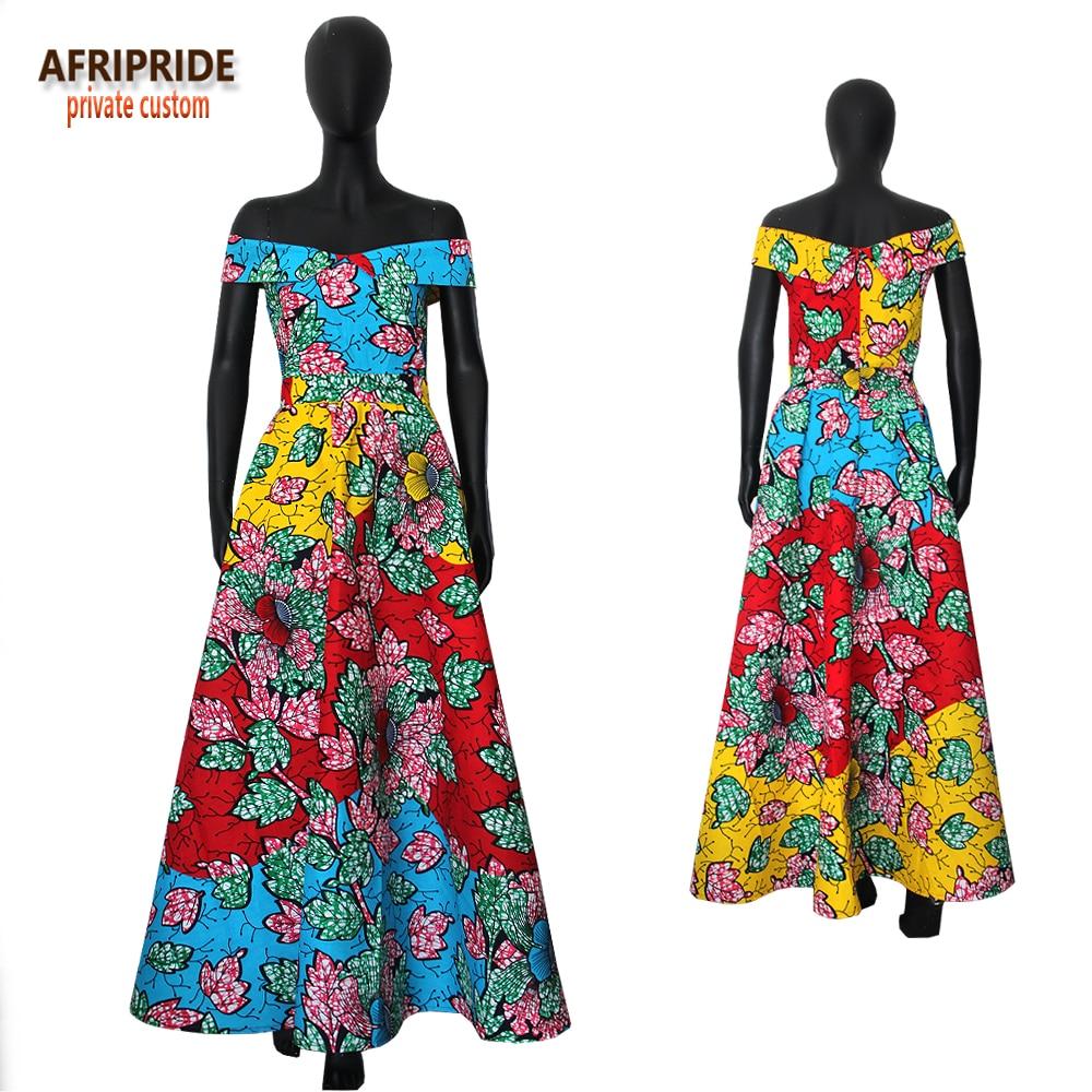 2019 ARIPRIDE privatna stranka haljina za žene ljeto pamuk V - izrez - Nacionalna odjeća - Foto 2