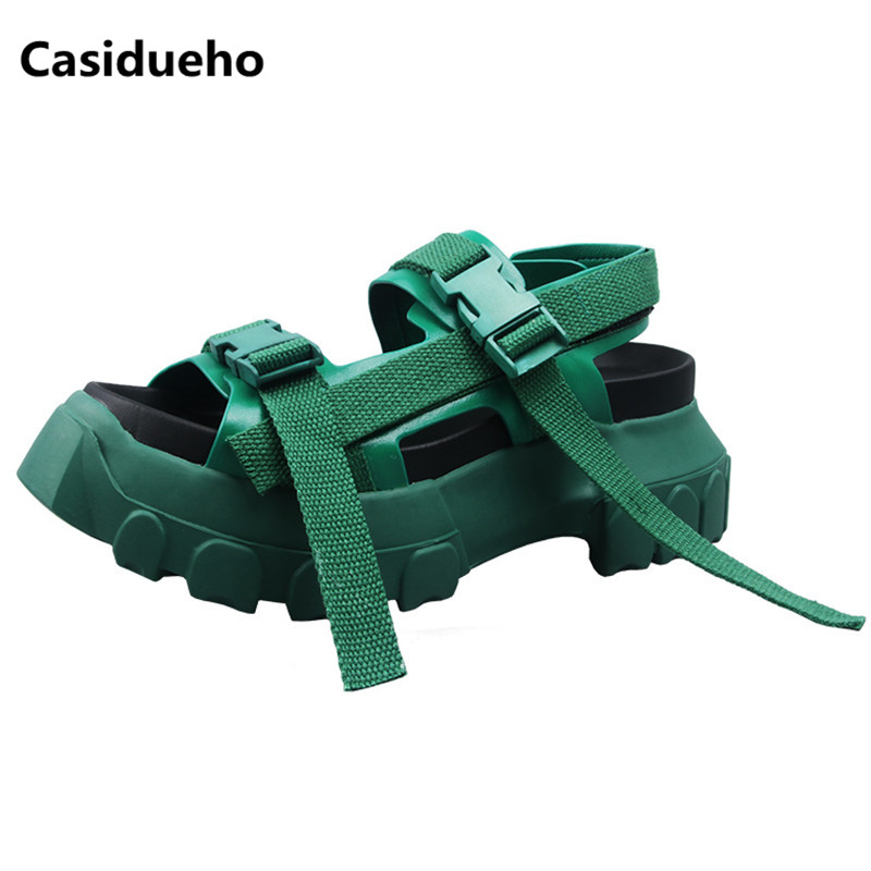 Casidueho Rome Zapatos Mujer Sandals Ribbon Summer Shoes Woman Leisure Flats Vintage Sandalias Mujer Buckles Sapato Feminino 40