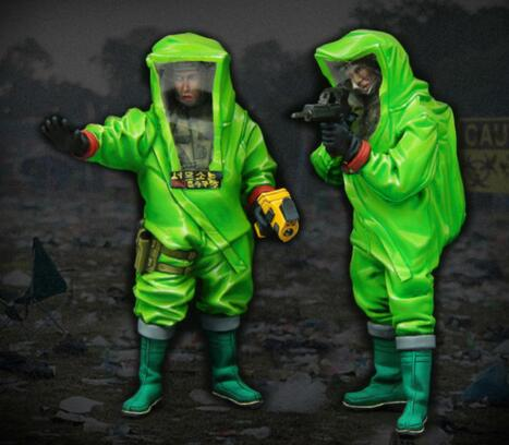 1/35 Resin Figure Biochemical Soldiers 2pcs/set Model Kits