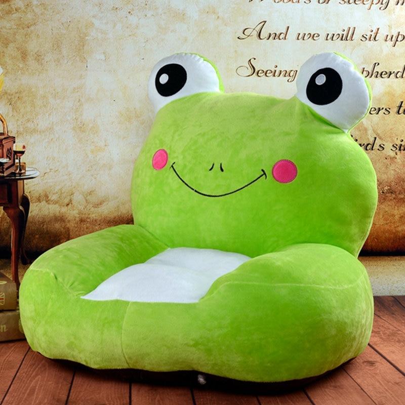 Drop shipping 12 stlyes gray frog plush toy sofa elephant plush toy sofa baby seat cushion for children,plush doll diameter 100cm murakami takashi sunflower plush toy sofa cushion auto accessory free shipping