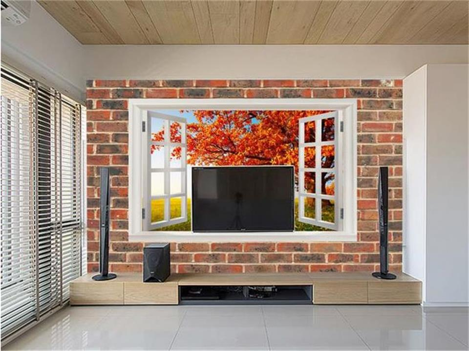 Custom size wallpaper 3d photo wallpaper living room mural window and balloon vine 3d painting sofa TV background wall sticker 3d photo wallpaper custom room mural non woven sticker retro style bookcase bookshelf painting sofa tv background wall wallpaper