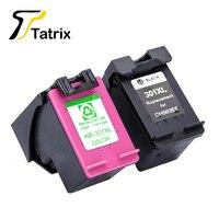 Tatrix 301XL For HP 301 XL Ink Cartridge CH563EE CH564EE For HP DeskJet 1050 2050 2050s 2510 3000 3054