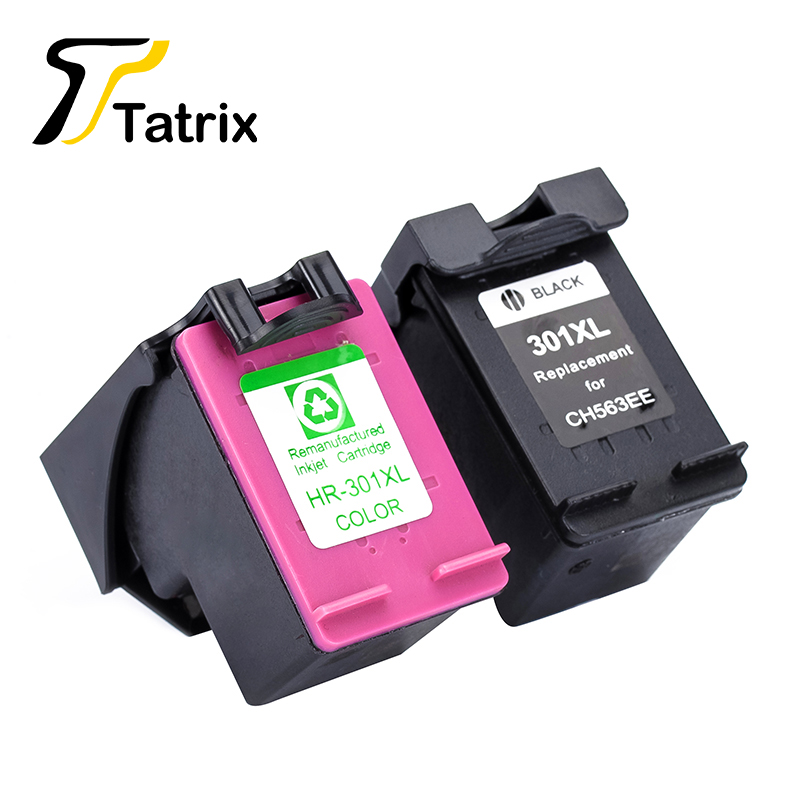 Tatrix 301XL Für HP 301 XL Tintenpatrone CH563EE CH564EE Für HP DeskJet...