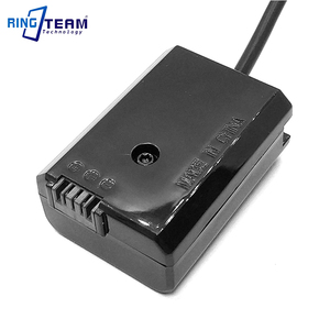 Image 5 - DC 5521 Spiral Cable NP FW50 AC PW20 PW20 Battery DC Coupler for SONY A7000 A6500 A5100 A6300 A6000 A7 2 A7R A7S RX10 Camera