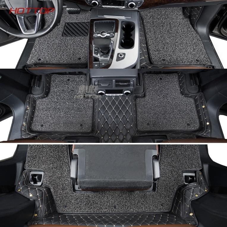 Tapis de sol de voiture sur mesure pour Audi Q7 2018 tapis de sol de voiture en cuir style de voitureTapis de sol de voiture sur mesure pour Audi Q7 2018 tapis de sol de voiture en cuir style de voiture