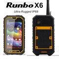 "Runbo X6 5.0 ""IP67 Водонепроницаемый Телефон 2 ГБ RAM 32 ГБ Android5.1 Dual Sim ROM 4200 мАч walkie talkie PTT Gorilla 2 Стекла 13.0MP H1 Q5"