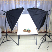 2M light stand light photography softbox Lighting Lamp with one shooting table softbox CD50
