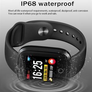 Image 5 - LIGE IP68 Wasserdichte Smart Armband Sport Fitness Tracking Blutdruck Herz Rate Monitor Smart Armband Schrittzähler uhr Männer