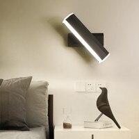 Minimalista e moderno levou lâmpada de parede levou luz sala de estar corredor cama de moda acrílico luminária interior luz lâmpada de cabeceira|Luminárias de parede| |  -