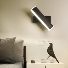 Modern minimalist led wall lamp led light living room aisle fashion acrylic light fixture bed indoor light bedside lamp