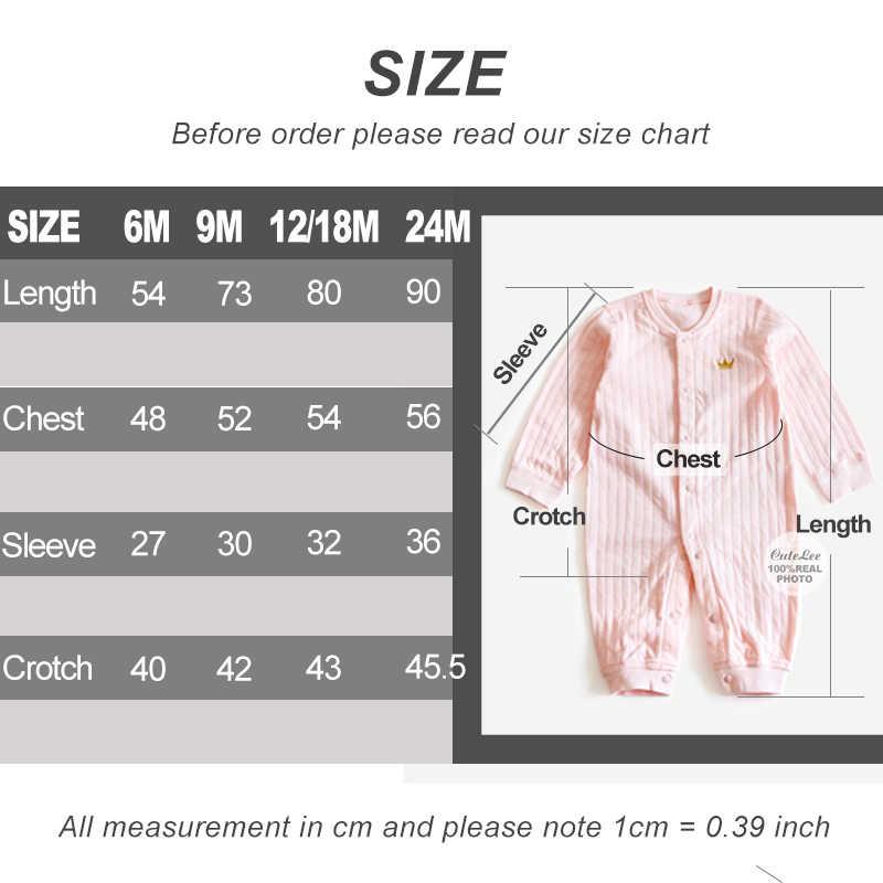 d92487ca8 ... 6-24M solid baby rompers Crown clothes white baby onesie for boy girls  stripe newborn