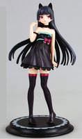 22cm Japanese anime figure Alphamax Oreimo Kuroneko Ruri Gokou One piece Dress Ver. 1/8 PVC Action Figure Collection Model Toy