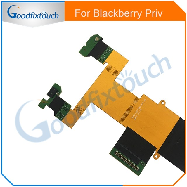 For Blackberry Priv Slide Connector Flex Cable Ribbon Slide Connect Flex  Cable For Blackberry Venice Replacement Parts-in Mobile Phone Flex Cables