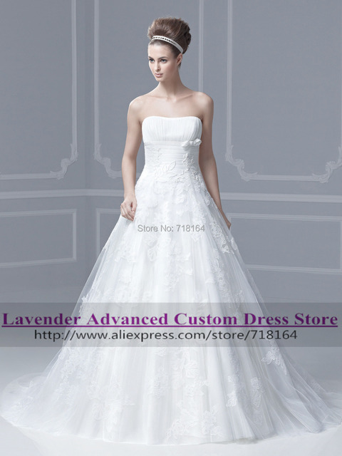 Sweet off shoulder ball gown wedding dress 2017 hot sale sweetangel ...