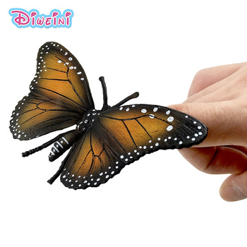 Mini cute Butterfly figure Simulation animal model insect figurine home decor decoration accessories statue Toys Gift For Kids advanced full function nursing manikin male bix h135 w189
