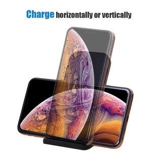 Image 4 - Bezprzewodowa ładowarka Qi stojak 10W szybkie ładowanie bezprzewodowa ładowarka do telefonu indukcja dla iPhone XS Max XR X 8 Samsung S8 S9 Plus