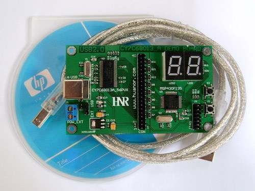 USB2.0 development board USB development board CY7C68013A development board (real factory direct selling)