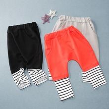 KUNKUNXIONG Baby Cotton Pants Kids PP Children Boys Girls