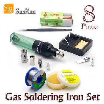 Gas Blow Torch Butane Gas Soldering Iron Gun Cordless Solder Iron MT-100 socket wrench