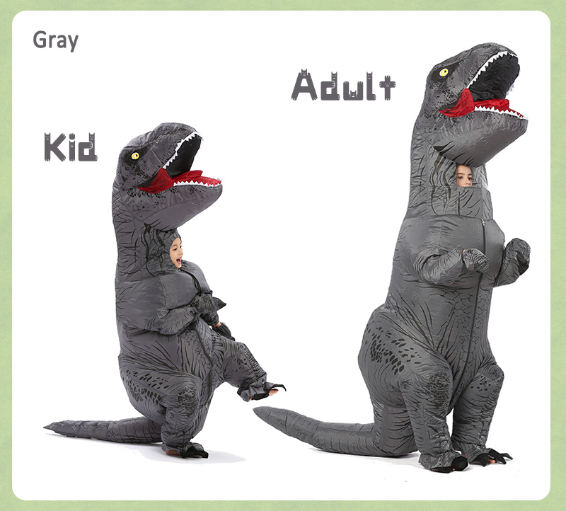 inflatable dinosaur costume-12