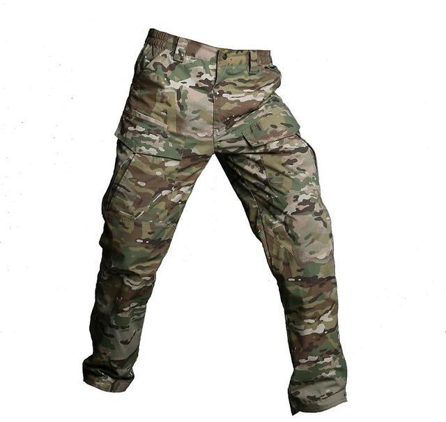 267d2be33b8 M2 Táctica de Camuflaje Del Ejército Pantalones de Los Hombres Pantalones  Cargo SWAT Combate Militar A